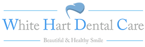 White Hart Dental Sticky Logo